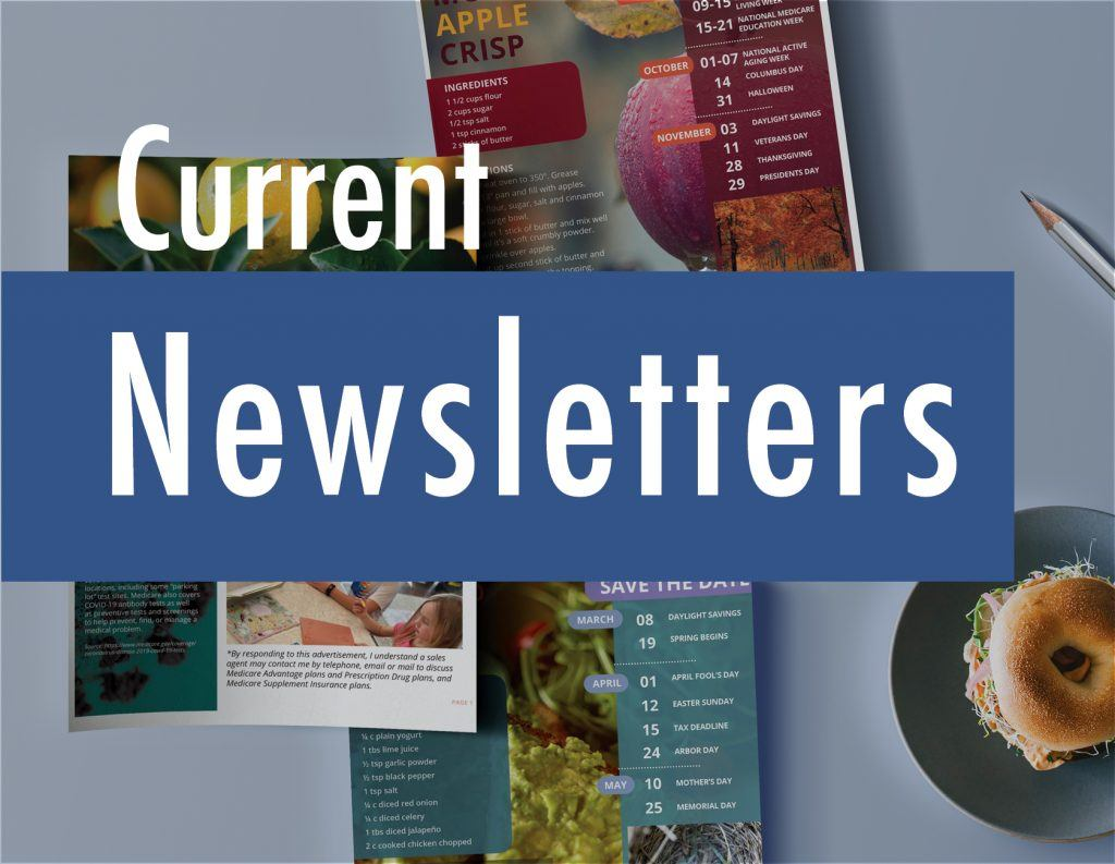 current agent newsletters from Senior Marketing Specialists medicare FMO