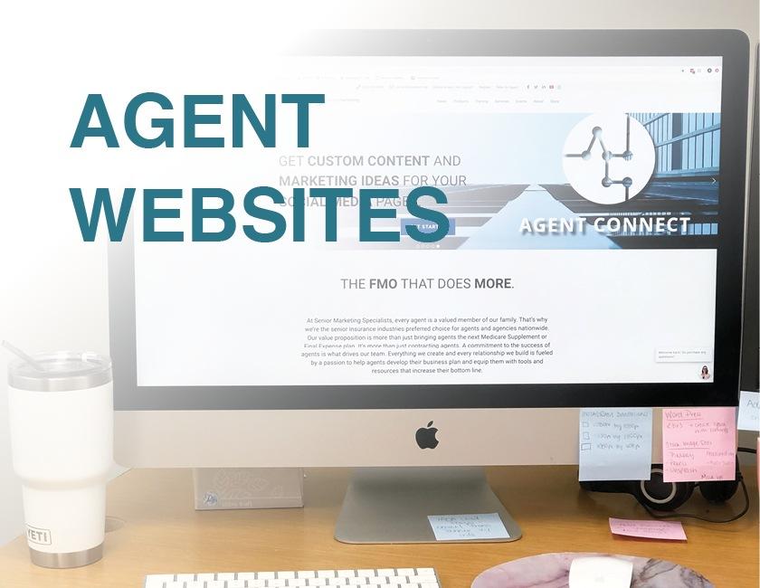 agent websites senior marketing specialists medicare FMO